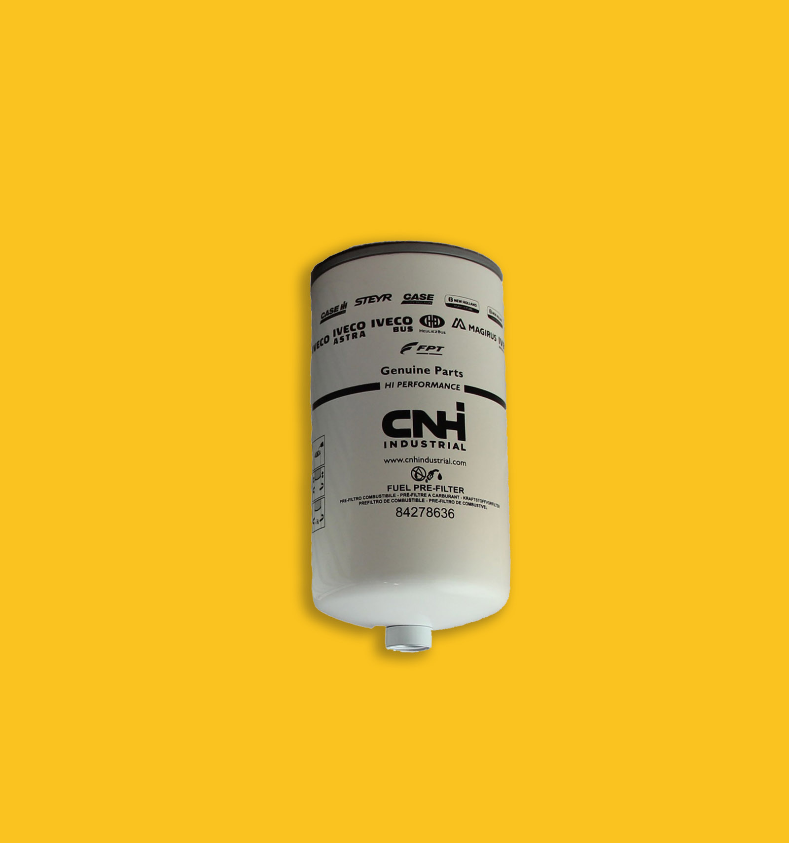 Filtro Combustibile CNH - New Holland - 84278636